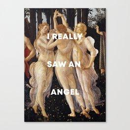 Harry Styles + Botticelli Canvas Print