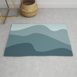 Abstract wavy wallpaper. Waved background. Pattern with waves. Rug