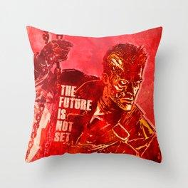 Terminator 2 - The Future Is Not Set Throw Pillow