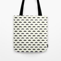 moustache Tote Bags featuring *Moustache* by Mr and Mrs Quirynen