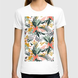 Botanical brush strokes I T-shirt