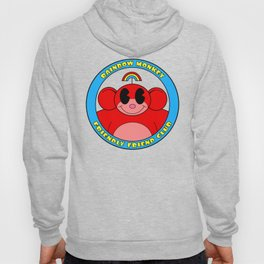 Rainbow Monkey Friendly Friend Club! Hoody