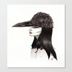 The Masquerade:  The Crow Canvas Print