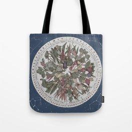 Seasonal Planting Calendar Tote Bag