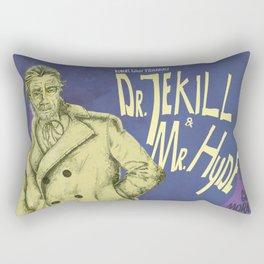 Dr. Jekyll & MrHyde Rectangular Pillow
