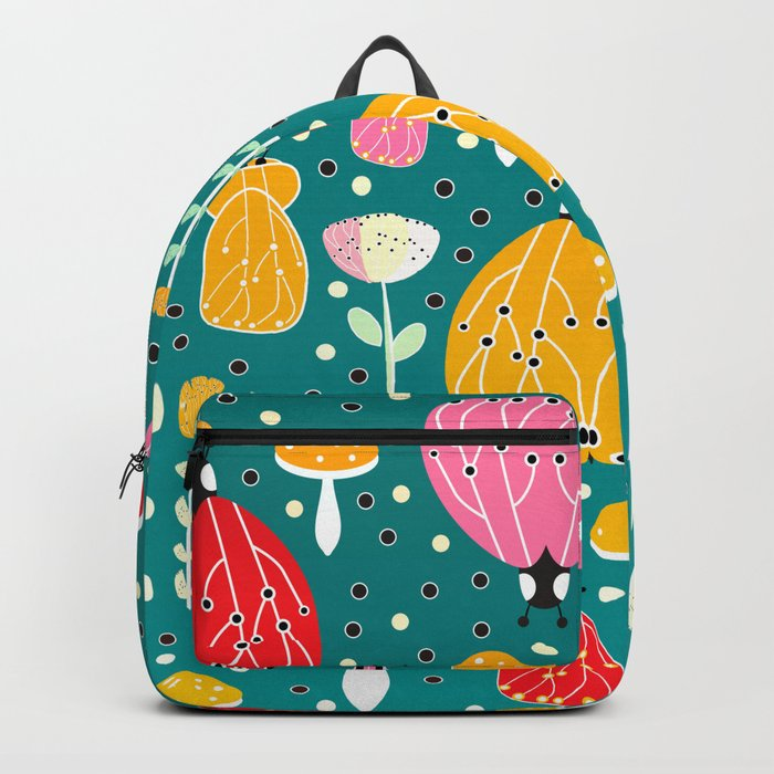 Bugs and mushrooms Backpack