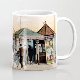 Pier Gates Llandudno Wales 1890 Coffee Mug