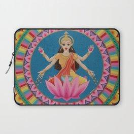 Goddess Lakshmi Mandala Laptop Sleeve