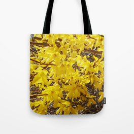 Forsythia of The Spring Tote Bag
