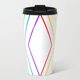 Rainbow Shape of You Travel Mug