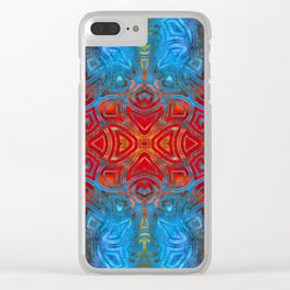 The Easter Bunny Visual Enigma III Clear iPhone Case