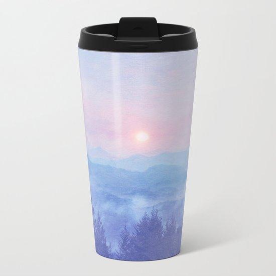 Pastel vibes 12 O-P Metal Travel Mug