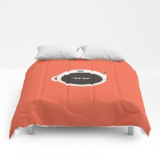 The Spaceman on Mars Comforters