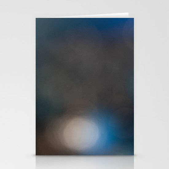 Abstract in Blue, No. 1 Stationery Cards