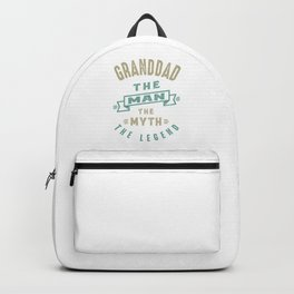 Granddad The Legend Backpack