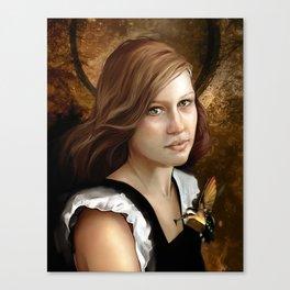 Newsom Heart Canvas Print