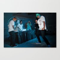 odd future Canvas Prints featuring Odd Future, 2011. by Josh Sisk Photography