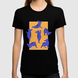 French Bulldog Yoga T-shirt