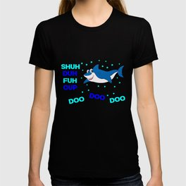 baby shark funny sarcastic annoying song. T-shirt
