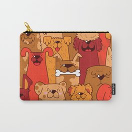Pile of Woofs Carry-All Pouch