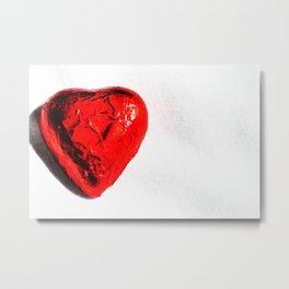 Heart on my sleeve Metal Print