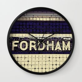 Fordham Wall Clock