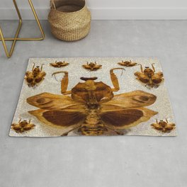 Insect pattern Rug