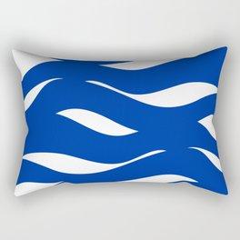 sea waves Rectangular Pillow