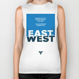 East of West Biker Tank