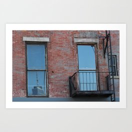 Reflection from Brooklyn (Look Closely!) Art Print
