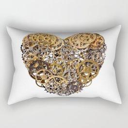 Mechanical heart Rectangular Pillow