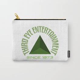 Third eye entertainment green Carry-All Pouch