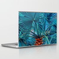 palm tree Laptop & iPad Skins featuring Palm Tree by DistinctyDesign