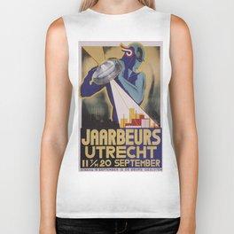 Vintage poster - Utrecht Biker Tank