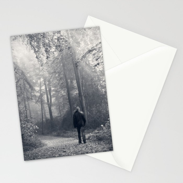 in the forest of light Stationery Cards