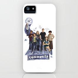 Community iPhone Case