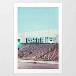 VERNON Art Print
