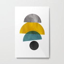 Modern Mid-Century 28 Metal Print