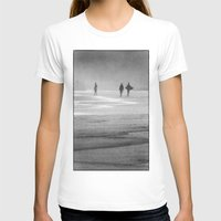 south africa T-shirts featuring Surfing South Africa by David Turner