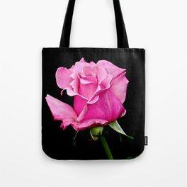 Romantic Pink Rosebud Tote Bag