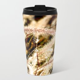 Wheat Metal Travel Mug