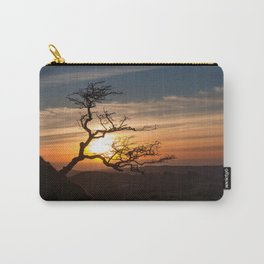 Black Mountain tree Carry-All Pouch