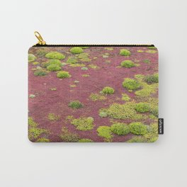 Green and Red Bogmoss Carry-All Pouch