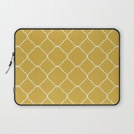 Yellow Moroccan Laptop Sleeve