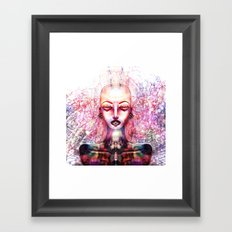 SOMETHINGS Framed Art Print