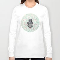 perfume Long Sleeve T-shirts featuring Perfume bottle  by saralucasi