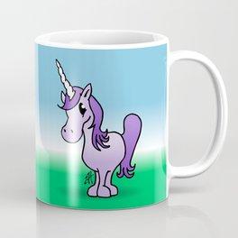 Purple Unicorn Coffee Mug