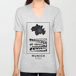 MUNICH Unisex V-Neck