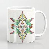 hummingbird Mugs featuring hummingbird  by Manoou