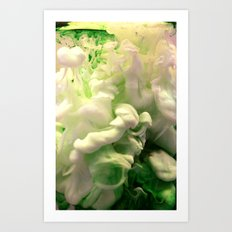 Green envy Art Print